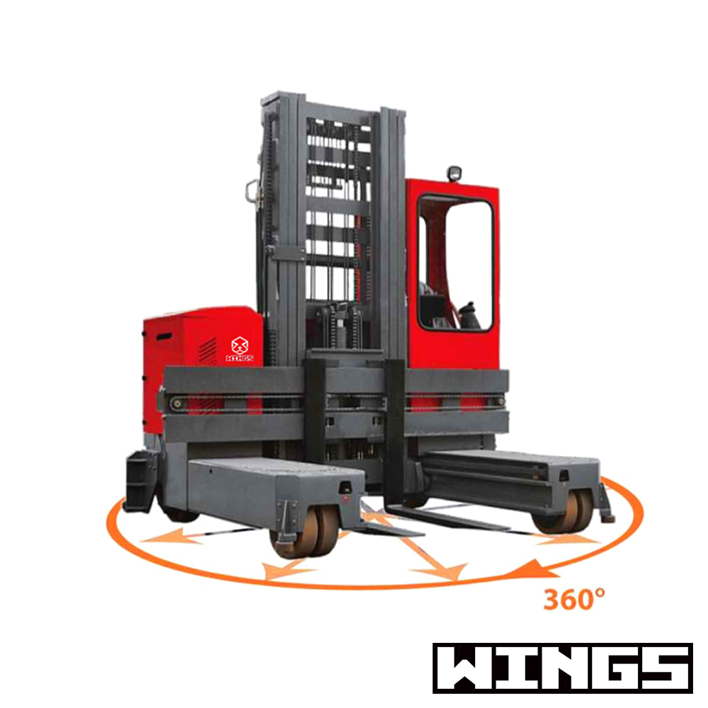 WINGS MACHINERY TFC30 ELECTRIC STACKER -13