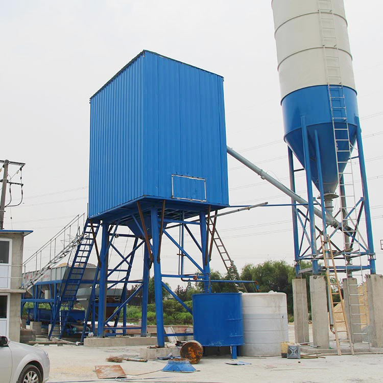 Superior advanced 25m3/h concrete batching plant