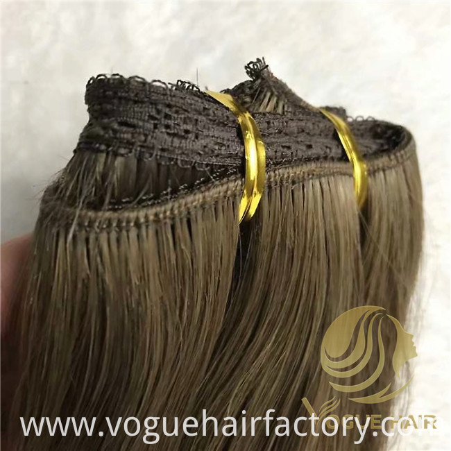 machine weft hair extensions