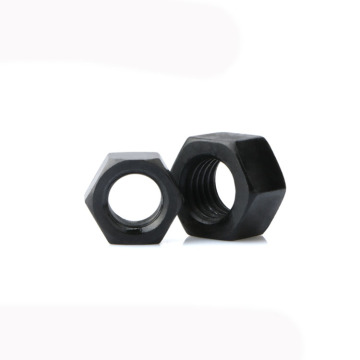 Black ASTM A194 2H Heavy hex nut