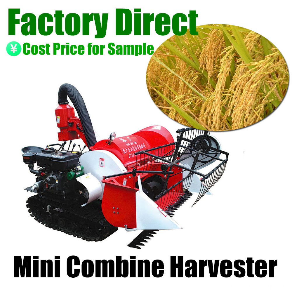 Agricultural Equipment Factory Small Harvester 4LZ-0.8