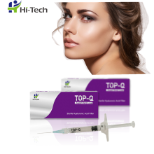 Cross linked hyaluronic acid injectable dermal filler injection for Nasolabial groove
