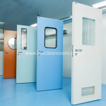 Food cleanroom door production
