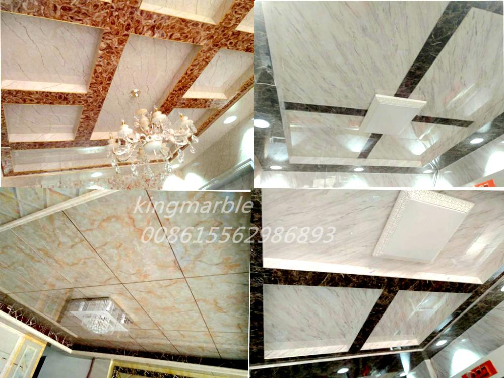 Fancy Styles Uv Panel Wall Panel Pvc Marble Sheet
