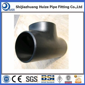 Steel pipe fitting barred tee