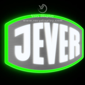 Jever 3D metal logo sign