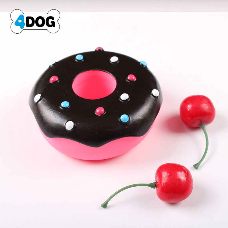 Rubber Squeaky Dog Chew Toy for Pet