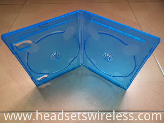 11mm Double Blue Dvd Case2