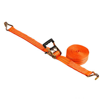 2000kg Ratchet tie down Polyester Cargo Lashing