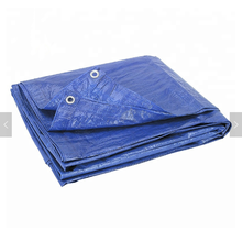 Royal blue PE tarpaulin for Europe