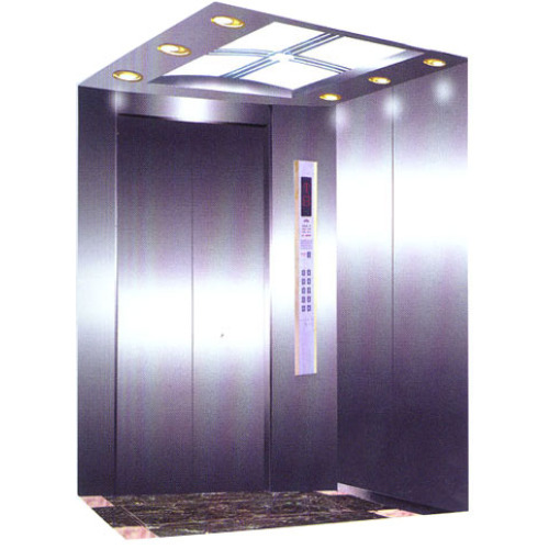 Passenger Elevator Car , Elevator Decoration 450kg Rated Load QK1001