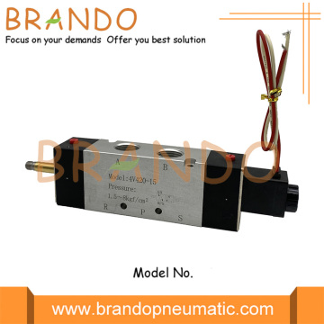 4V420-15 1/2'' 5/2 Way AirTAC Type Pneumatic Valve