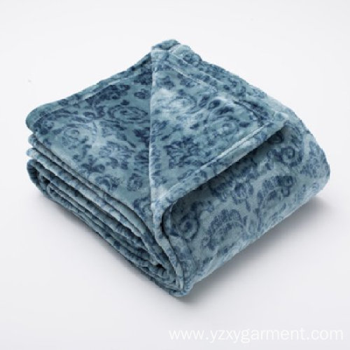 Super soft fleece blanket in ultra velvet plush