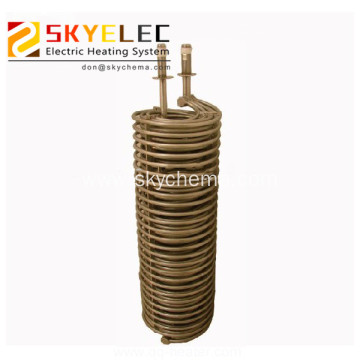Chemical Immersed Metal Tube heat exchanger