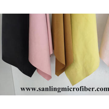 High Quality Waterborne Microfiber Suede Leather