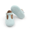 Classic Leather Tbar Ceremony Baby Shoes