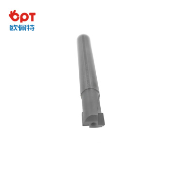 PCD flat end mill machine cutter tool