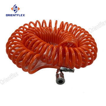 8mm PU air coil hose spiral