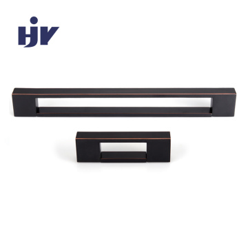 HJY Embedded furniture pulls aluminium recessed cabinet handle