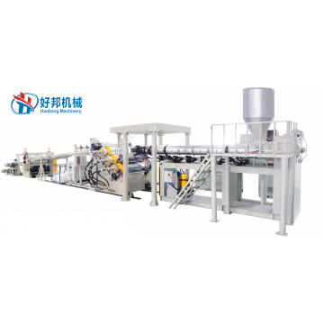 PC embossed sheet production line