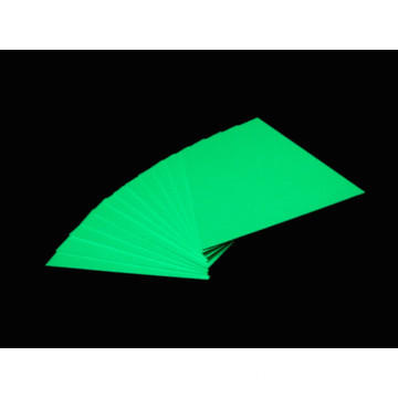 Realglow Photoluminescent PVC Rigid Sheet साइन