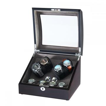 Two Rotors Watch Winder With 4 Storages