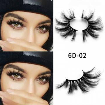 6D 25mm black mink eyelashes with good quality