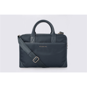 Botkier Bond Tote Nylon Twill Computer Leather Handbags