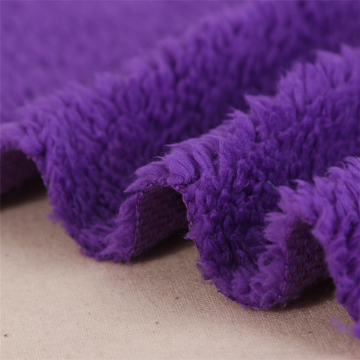 One Side Shu Velveteen Fleece Fabric