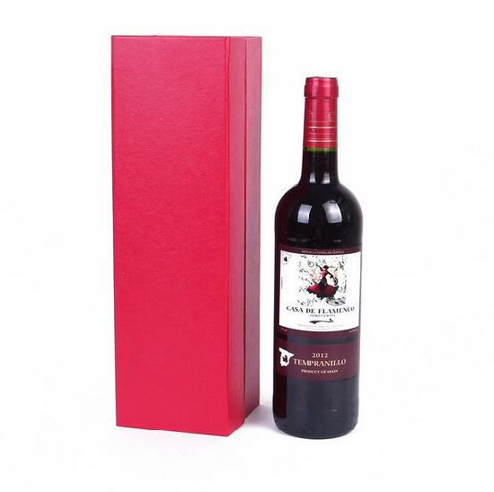 High Quality Handmade Cardboard Wine Packaging Paper Box