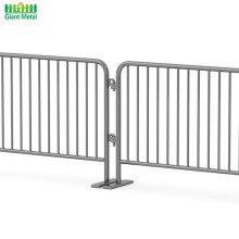 Galvanized Temporary Road Safety Traffic Crowd Barrier