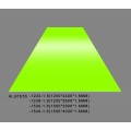 Feve Gloss Lime Green Aluminium Sheet