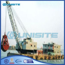 Grab steel marine dredgers