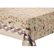 Double Face Emboss printed Gold Silver Tablecloth Paper