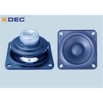 2.75 inch square high end 4ohm 10w speaker