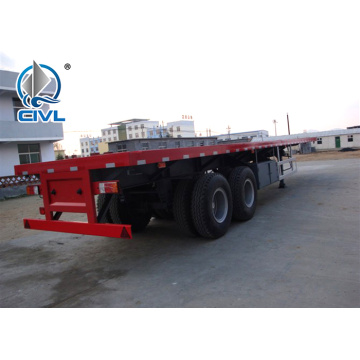 3 Axles Lowbed Skeleton Semi Trailer