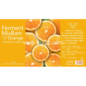 Orange fragrance Shampoo
