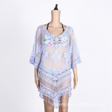 casual lady's summer clothing beach wear cover up