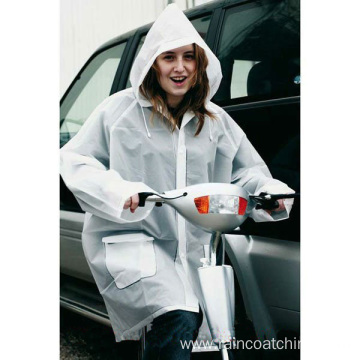 Wholesale PVC Waterproof Cycling Rain Jackets