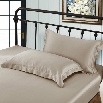 Silk Standard Size Pillowcases Oxford 19 Momme Luxury