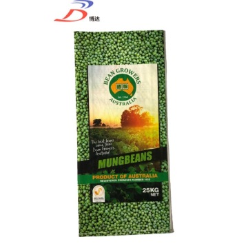 plastic laminated bag for seed