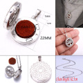 10 styles Aroma locket Necklace Magnetic Stainless Steel Aromatherapy Essential Oil Diffuser Perfume Locket Pendant Jewelry