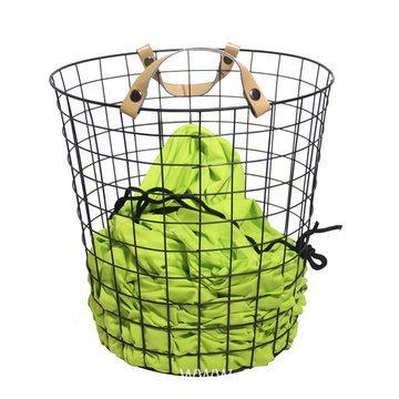 Luxury Design Metal Wire Bin Storage Basket Home