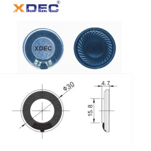 8ohm 1.5W high sound quality 30mm Mylar speaker
