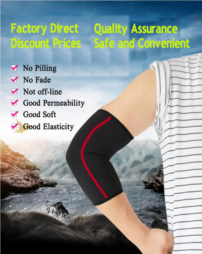 Magnetic tennis elbow brace strap compression sleeve