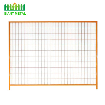 canada standard temporary fencing panel/portable fence