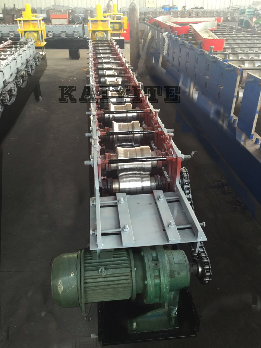 Rolling Shutter Strips Forming Machine