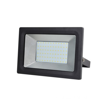 50W Outdoor Slim Black bezšnúrové LED svetlomety