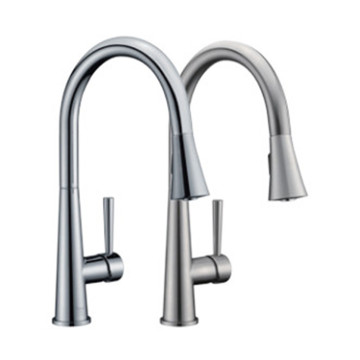 hot and cold water kitchen faucet