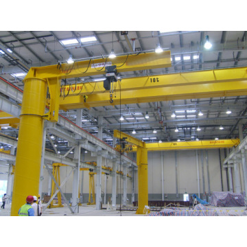Portable fixed jib lifting crane for sale